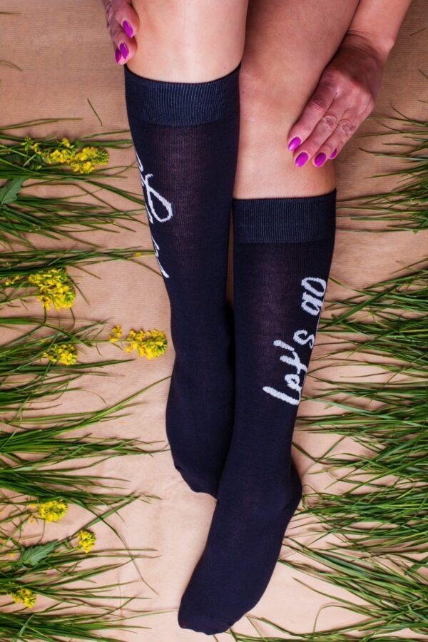 Ilgos juodos kojines